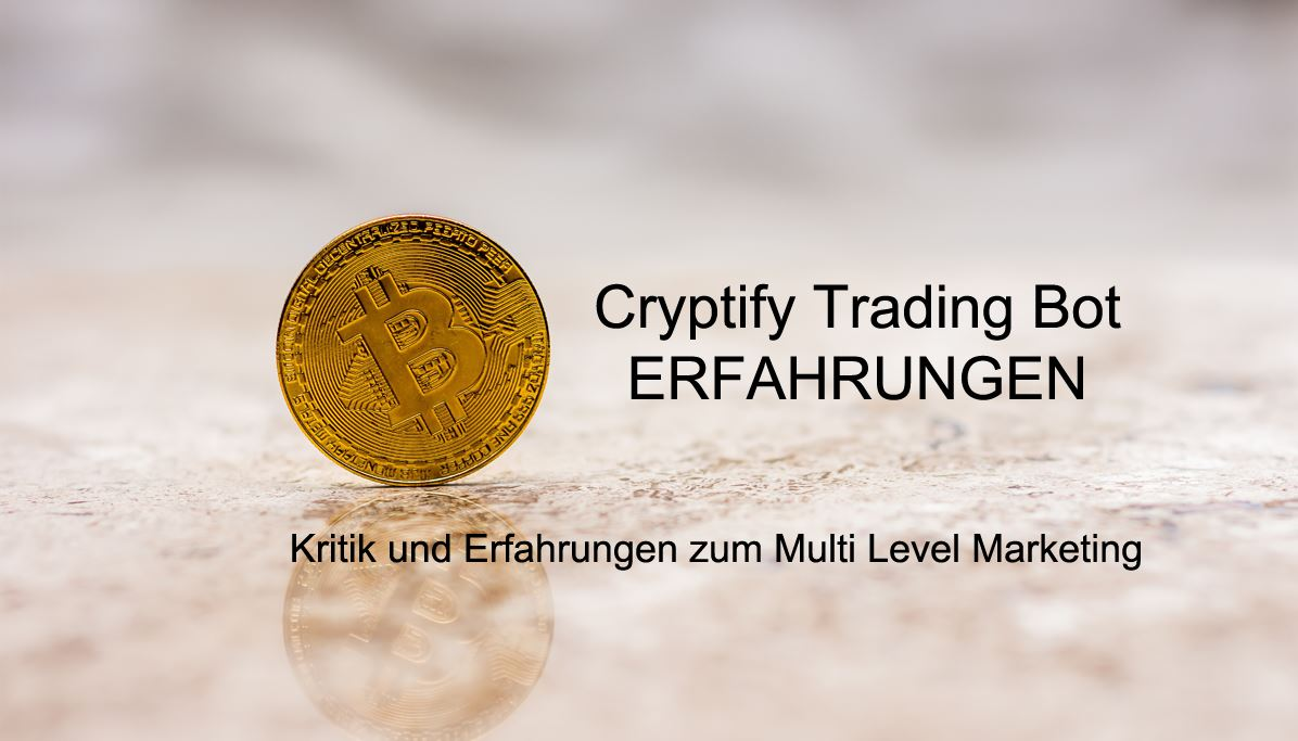 Cryptify trading bot